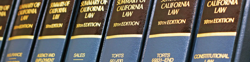 California Law Books